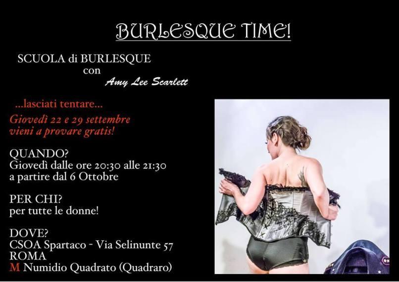 corso di burlesque